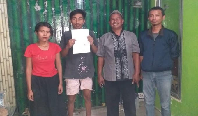 Kepergok Hendak Mencuri di Salah Satu Rumah Warga, IN Diamankan Warga