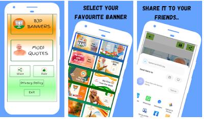 BJP Banner Maker App