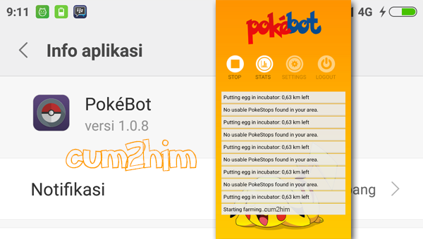 Pokebot v1.0.8 Apk Terbaru