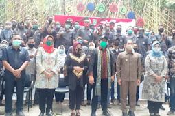 TPPI Lumajang Sambut Kedatangan Gus Menteri di Hutan Bambu