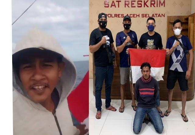 Pria di Aceh Hina Polisi Lewat Tik Tok, Diciduk Langsung 'Kena Mental'