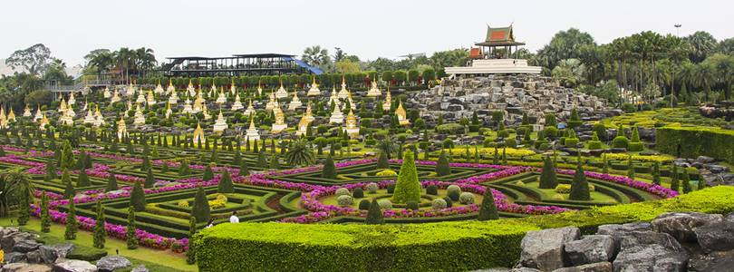 Nong Nooch complex in Thailand