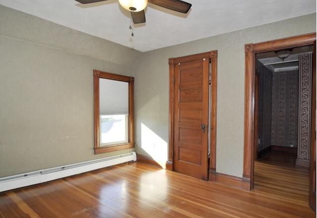 color photo of original floors and doors of Sears Avoca