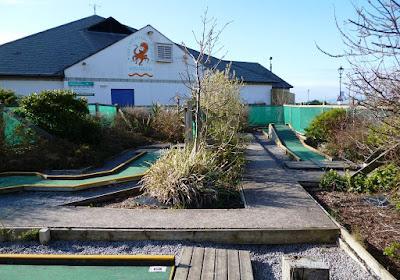 Mini Golf in Maryport, Cumbria