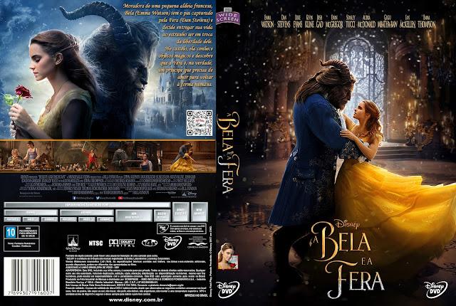Capa DVD A Bela e a Fera [Custom]