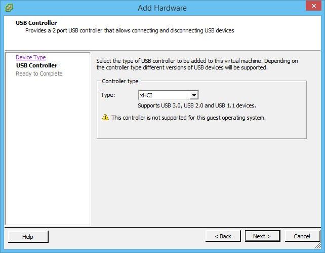 VMware Front Experience: VMware silently adds native USB 3 0 support