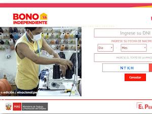 Bono para trabajadores independientes, consulta AQUÍ si eres beneficiario
