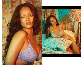 Rihanna Flaunts Her Ample Assets As She Poses In Just Bra And Panties [Photos]