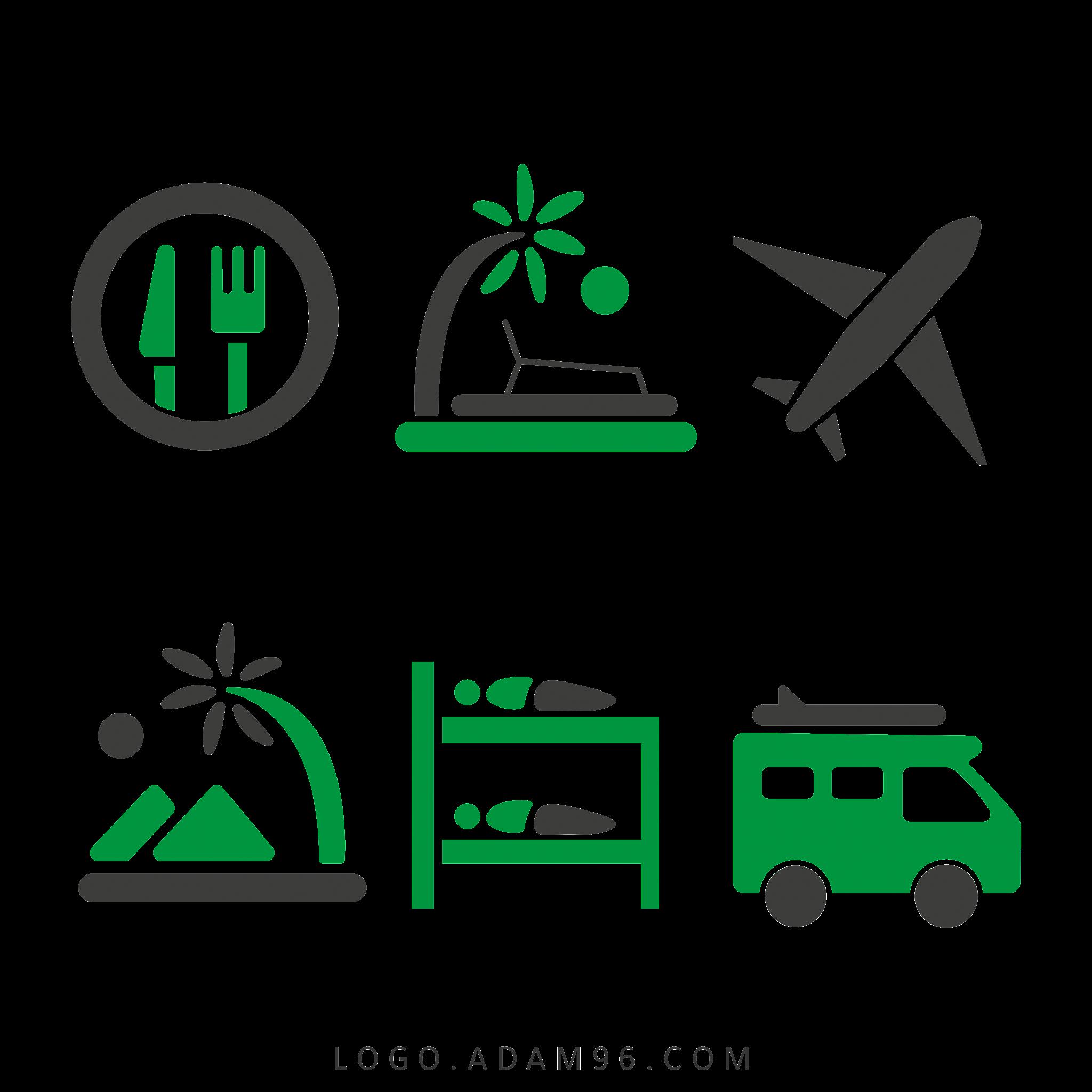 تحميل ايقونات سياحة وسفر Travel And Tourism Icons