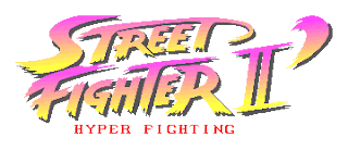 Street Fighter 30th Anniversary Collection - Street Fighter II' Hyper Fighting - Logo