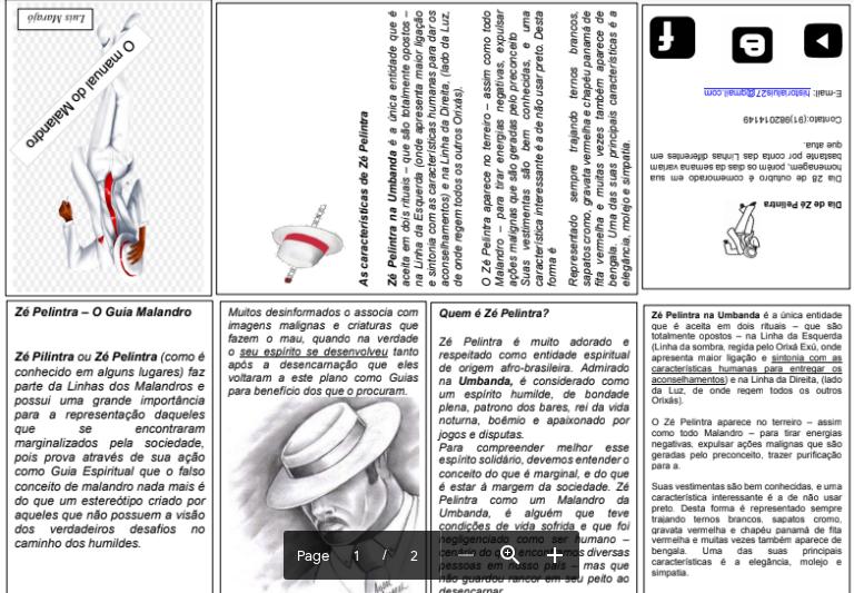 Do pdf manual malandro