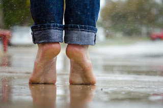 Drenched Feet