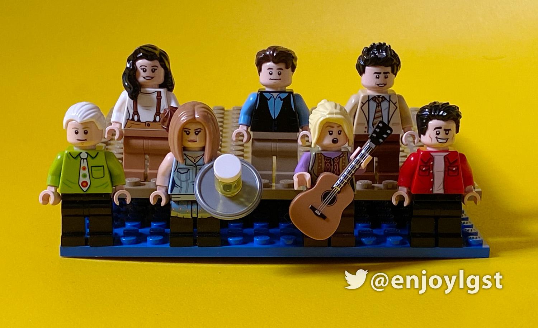 レゴ(LEGO)レビュー:21319 セントラル・パーク:ドラマ フレンズ放送25周年記念セット