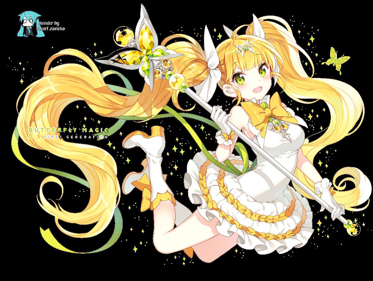 Render Ilustracion Anime