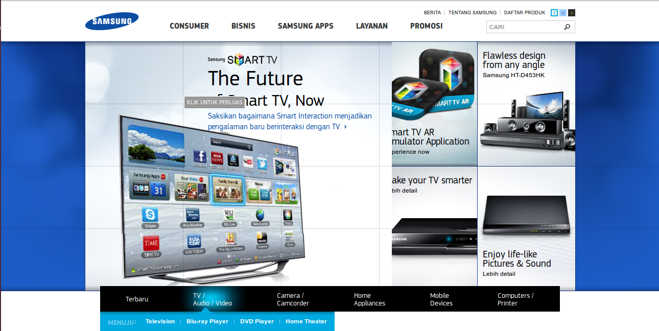 Contoh Advertisement Hp Samsung Contoh Bow