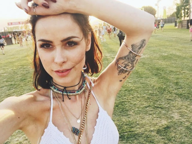 Lena Meyer-Landrut at  music festival Coachella