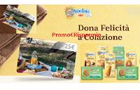 """Mulino Bianco concorso """"Dona felicità a colazione -Unes"""" : vinci 360 Card Prepagate da 25 euro ( 1 ogni ora)"""