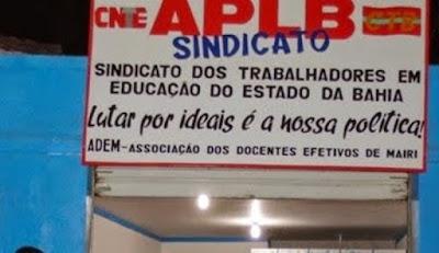 APLB/Sindicato Núcleo de Mairi informa que irá aderir a Greve Geral Nacional