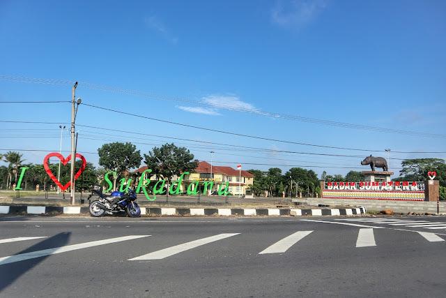 Kantor Bupati Pemda kota Sukadana Lampung Timur