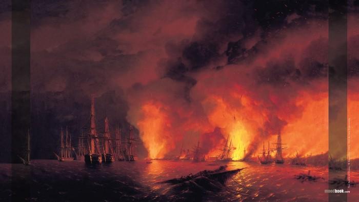 The Battle of Sinop, 18 November 1853