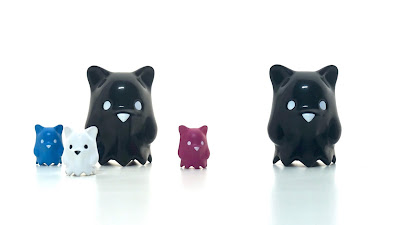 Strangecat Toys Exclusive Ghostbear Black Edition Vinyl Figure by Luke Chueh x Munky King