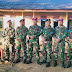 Saat Tiga Matra TNI yang Tergabung Dalam TMMD ke-108 Kodim 0605/Subang Berpisah