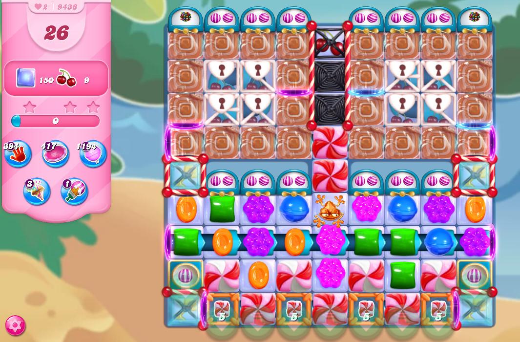 Candy Crush Saga level 9436