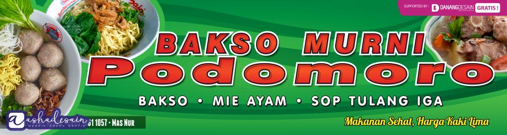 Contoh Desain Banner Spanduk Download Bakso & Mie Ayam ...