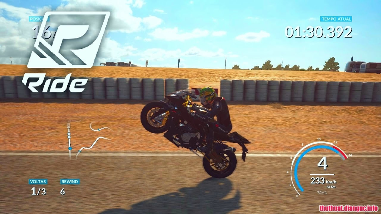Download Game RIDE Full Crack, Tải game Ride miễn phí, game đua xe mô tô tốc độ cao