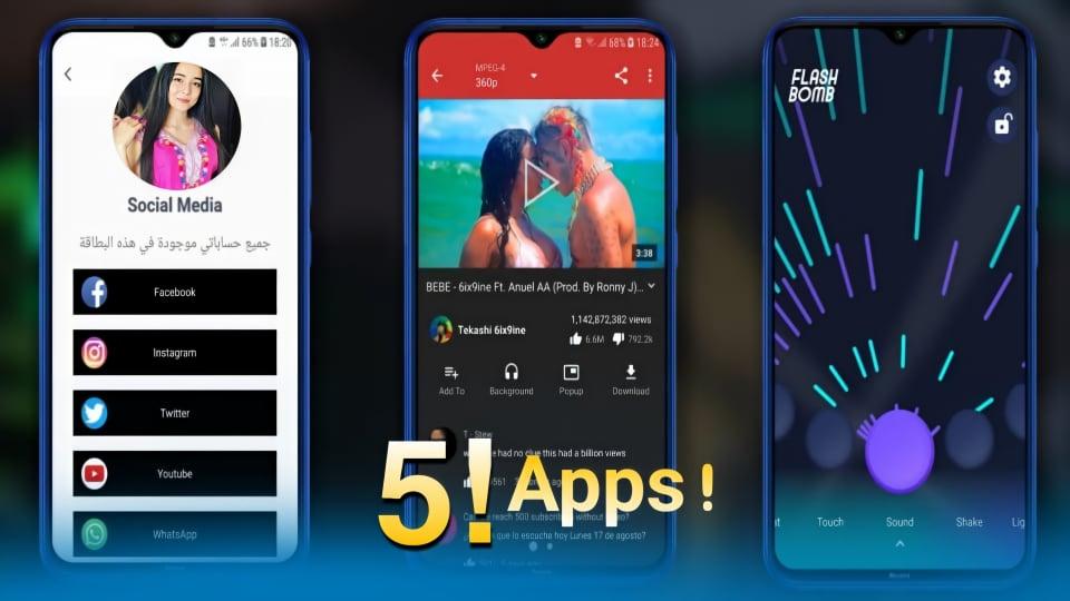 أفضل 5 تطبيقات أندرويد جديدة على متجر GooglePlay لشهر أغسطس 2020 لن تصدق أنها موجودة..!