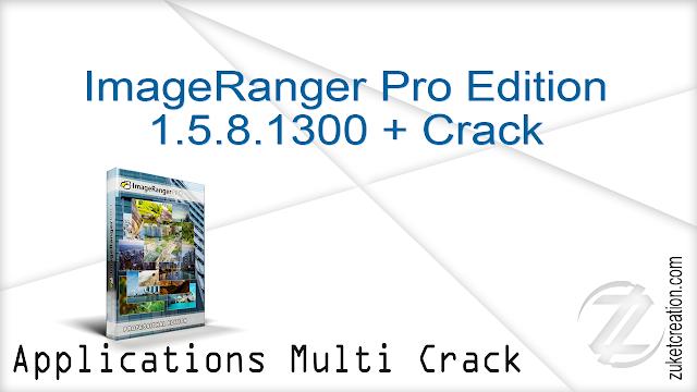 ImageRanger Pro Edition 1.5.8.1300 + Crack     |   109 MB