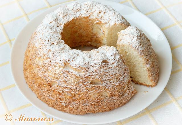 «Ангельский» (светлый) бисквит. Американская кухня