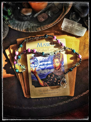 Mawu Card from The Goddess Guidance Oracle
