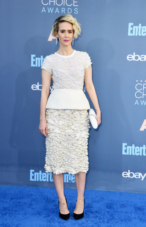 Critics Choice Awards 2016, Sarah Paulson