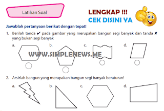 Kunci Jawaban Latihan Soal Halaman 154 155 156 Kelas 4 Senang Belajar Matematika Kurikulum 2013 www.simplenews.me