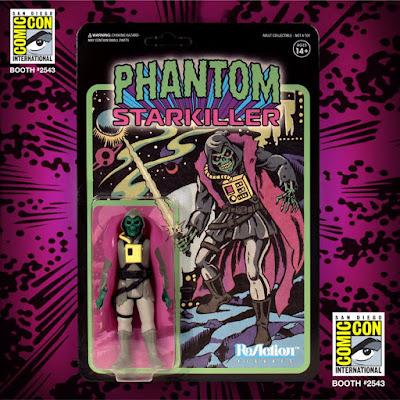 San Diego Comic-Con 2019 Exclusive Phantom Starkiller Grey Warrior Edition ReAction Figure by Killer Bootlegs x Super7
