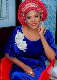 Photos: Fans Blast Toyin Aimakhu For Exposing Her Saggy Booobs… Are Those Things Really Sleeping?