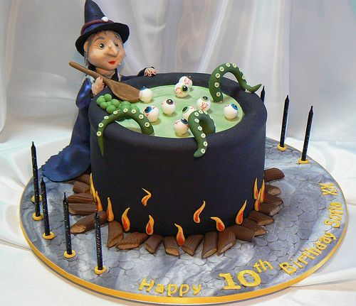 Free halloween cauldron cake images for facebook,whatsapp,instagram