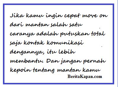 Kata-Kata Cinta Motivasi Untuk Move On