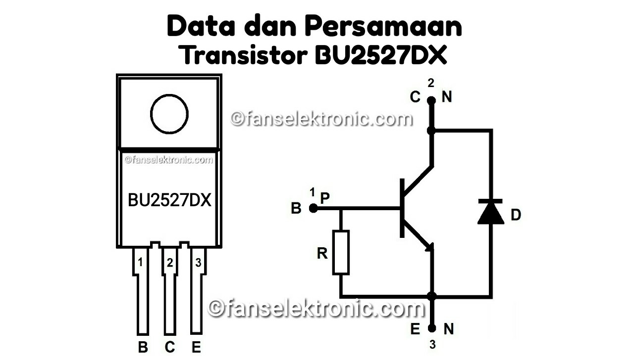 Persamaan Transistor BU2527DX