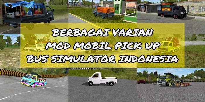 kumpulan mod mobil pick up bussid