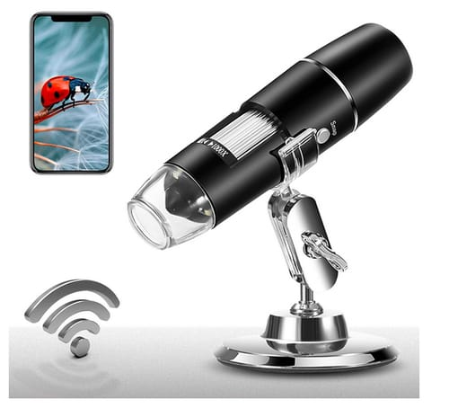 PalliPartners Portable Mini WiFi USB Microscope Camera