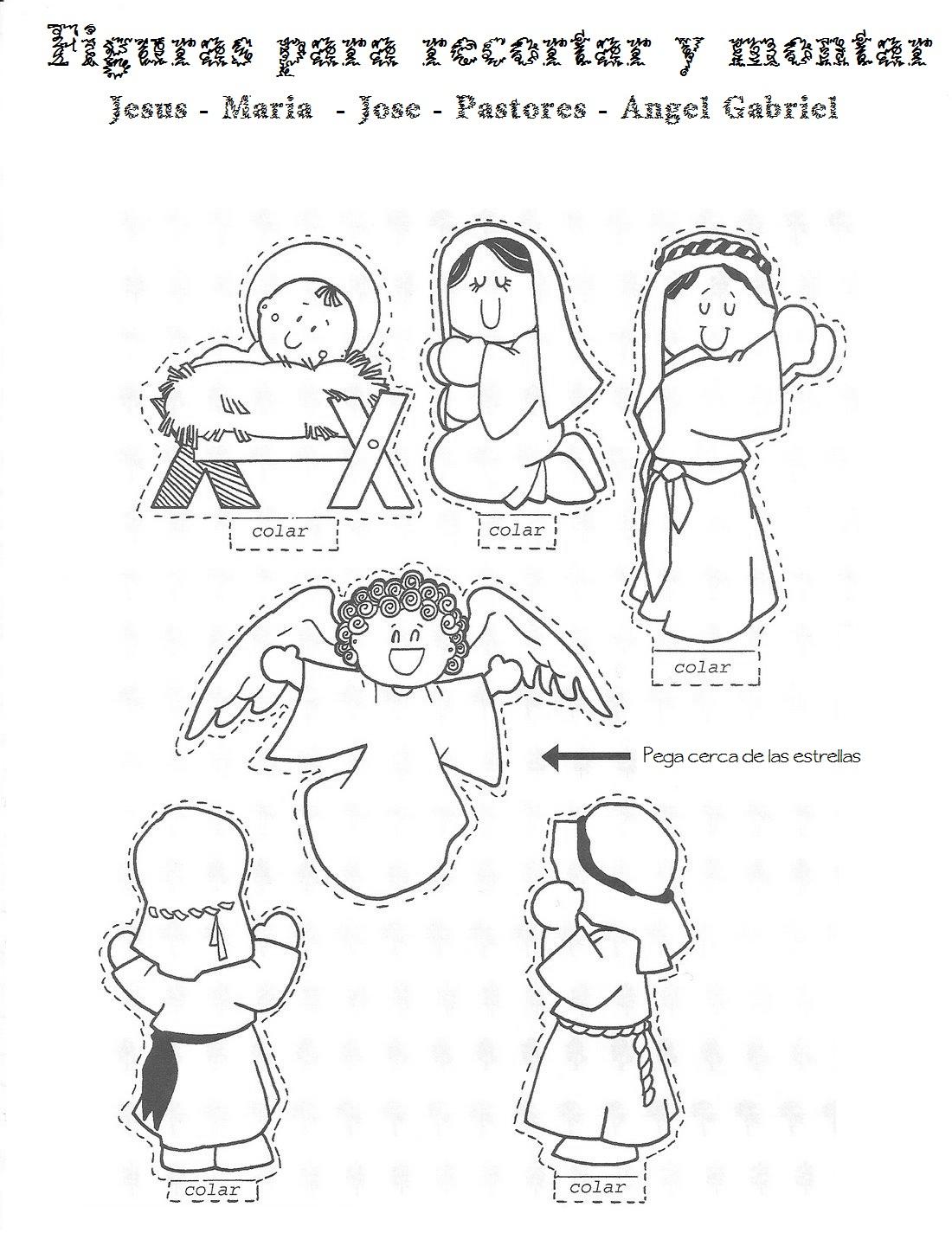 Actividades y ejercicios para infantil y primaria: Belen