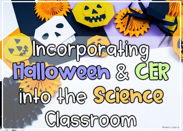 Engage students on Halloween with an experiment and CER writing strategy