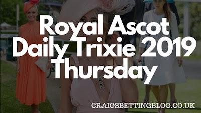 Royal Ascot Horse Racing Tips (Thursday)