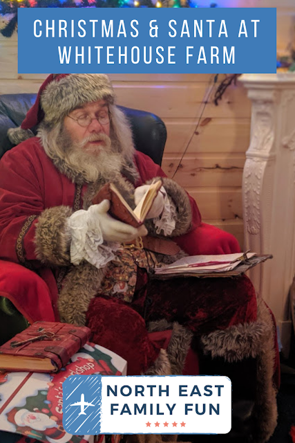 Christmas & Santa at Whitehouse Farm - A Review