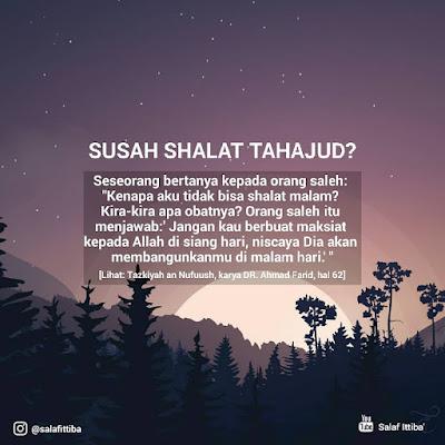 kata kata motivasi islam shalat tahajud