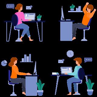 Lados positivos do home-office e carreiras digitais