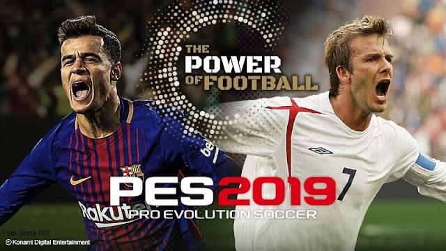 تحميل لعبة بيس 2019 مجانا Download PES 2019 كاملة