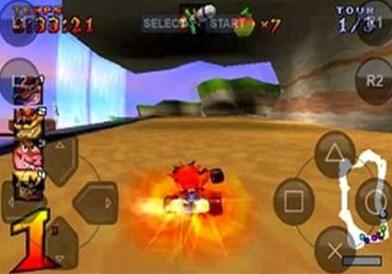 Download Game Crash Team Racing CTR PS1 EPSX Ukuran Kecil
